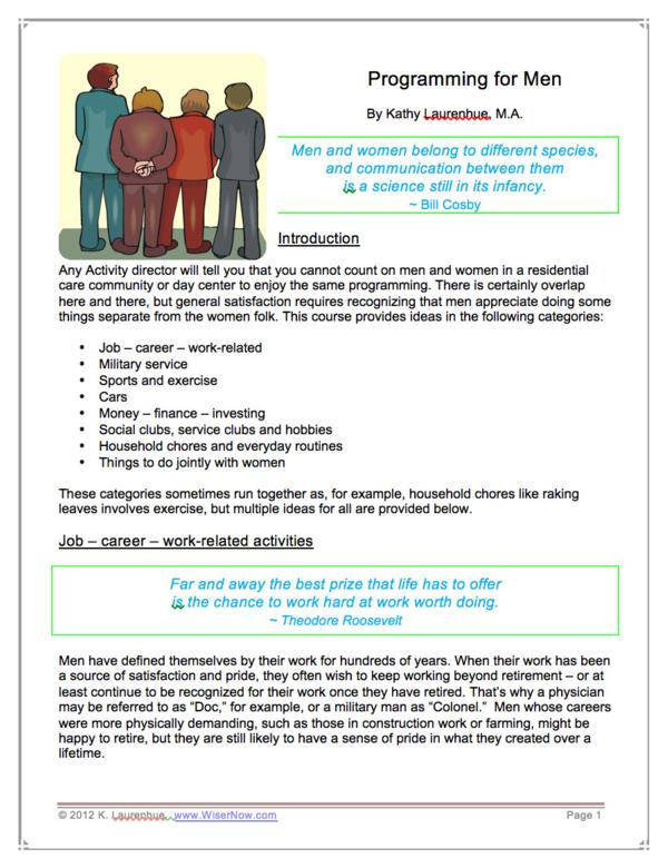 programming ce hours activityconnection activity director