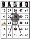 35 BARBQ Bingo Cards