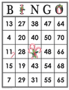 Candy Cane<br>Bingo Cards<br><b>digital download</b>