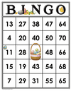Easter<br>Bingo Cards<br><b>digital download</b>
