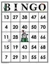 35 GOLF Bingo Cards