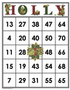 HOLLY Bingo Cards (Digital)