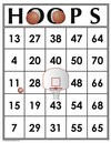 35 HOOPS Bingo Cards