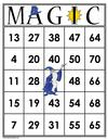 MAGIC Bingo Cards (Digital)