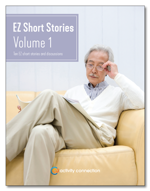 EZ Short Stories<br>Volume 1<br><b>digital download</b>