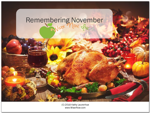 Remembering November<br><b>digital download</b>