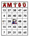 AMIGO<br>Bingo Cards<br><b>digital download</b>