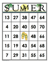 SUMMER<br>Bingo Cards<br><b>shipped to you</b>
