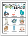 Wintertime Picture<br>Bingo Cards<br><b>digital download</b>