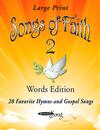 <em>Songs of Faith 2</em> Words Edition