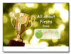 All About Firsts<br><b>digital download</b>